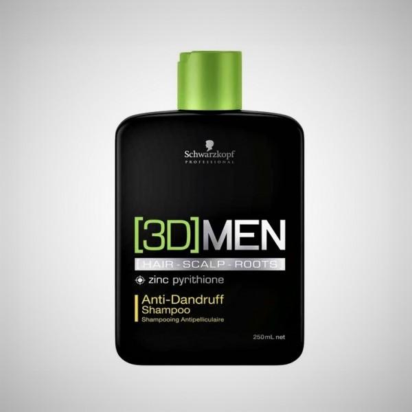 Schwarzkopf 3D MEN Antischuppen Shampoo 250 ml