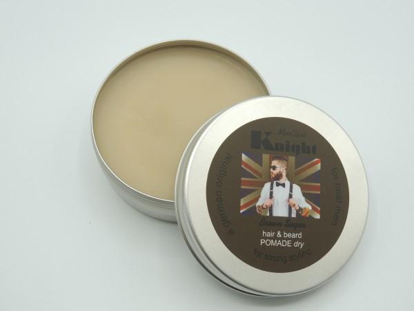 Knight Men Care Hair & Beard Pomade dry 100 ml